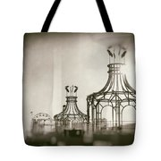 Analog On The Pier Tote Bag by Michael Hope