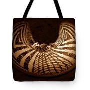Anasazi Butterfly Pot Tote Bag
