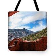 Anasazi Cliff Dwellings #21 Tote Bag
