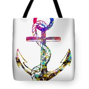 Anchor-colorful Tote Bag