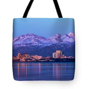 Anchorage Lights Tote Bag
