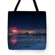 Anchorage Fireworks Tote Bag