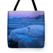 Anchorage Icebergs Tote Bag