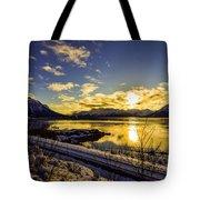 Anchorage Sunrise Tote Bag