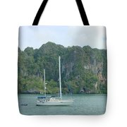 Anchored In Paradise Tote Bag