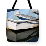 Anchored In The Harbor Tote Bag