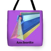 Anchorite -text Tote Bag