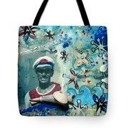 Anchor's Aweigh - Miniature Art Tote Bag