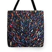 Anchovies  Abstract Fish Tote Bag