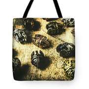 Ancient Battlefield Armour Tote Bag
