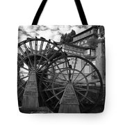 Ancient Chinese Waterwheels Tote Bag