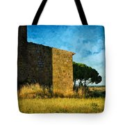 Ancient Church - Italy Tote Bag