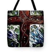 Ancient Cross Tote Bag