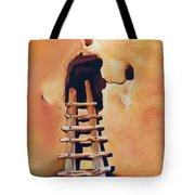 Ancient Dwelling Orange Tote Bag