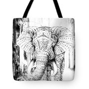 Ancient Elephant Tote Bag