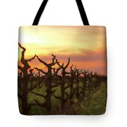 Ancient Golden Vines And Mustard Tote Bag