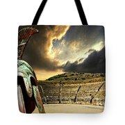 Ancient Greece Tote Bag by Meirion Matthias