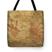 Ancient Hands Tote Bag
