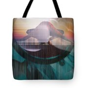 Ancient Of Days - After William Blake Tote Bag