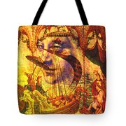 Ancient Of Days Tote Bag
