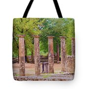 Ancient Olympia, Greece. Tote Bag