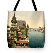 Ancient Paris Tote Bag