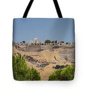Ancient Pergamon Acropolis Tote Bag