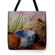 Ancient Relics A Paint Along With Jerry Yarnell' Study. Tote Bag