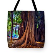 Ancient Roots Of Sicily Tote Bag