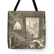 Ancient School Built According To The Egyptian And Greek Manners Tote Bag