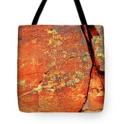 Ancient Scribeing Tote Bag
