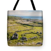 Ancient Settlement In The Burren Tote Bag