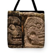 Ancient Skulls Tote Bag