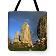 Ancient Stone Alignment Tote Bag