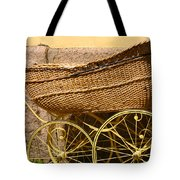 Ancient Swedish Baby Carriage Tote Bag