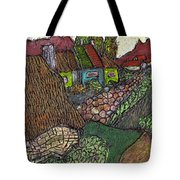Ancient Village Tote Bag