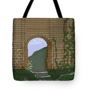Ancient Walls Tote Bag