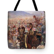 Ancient Warriors Tote Bag