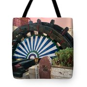 Ancient Water Mill Greece  Tote Bag