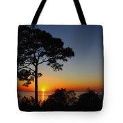 Anclote Gulf Sunset Tote Bag