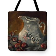 And A Few Grapes Tote Bag