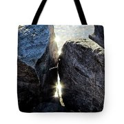 And A Hard Place Tote Bag