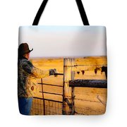 And God Made A Rancher Tote Bag