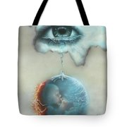 And God Weeps Tote Bag