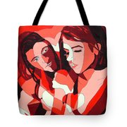 And He Said Be My Valentine Tote Bag