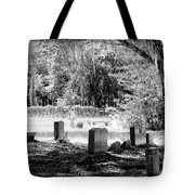 And Here We Rest Tote Bag