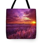 And I Dreamt Of Waking Tote Bag