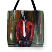 And If The Cloud Bursts... Tote Bag