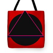 And It Flowed Tote Bag