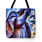 And Jesus Wept Tote Bag